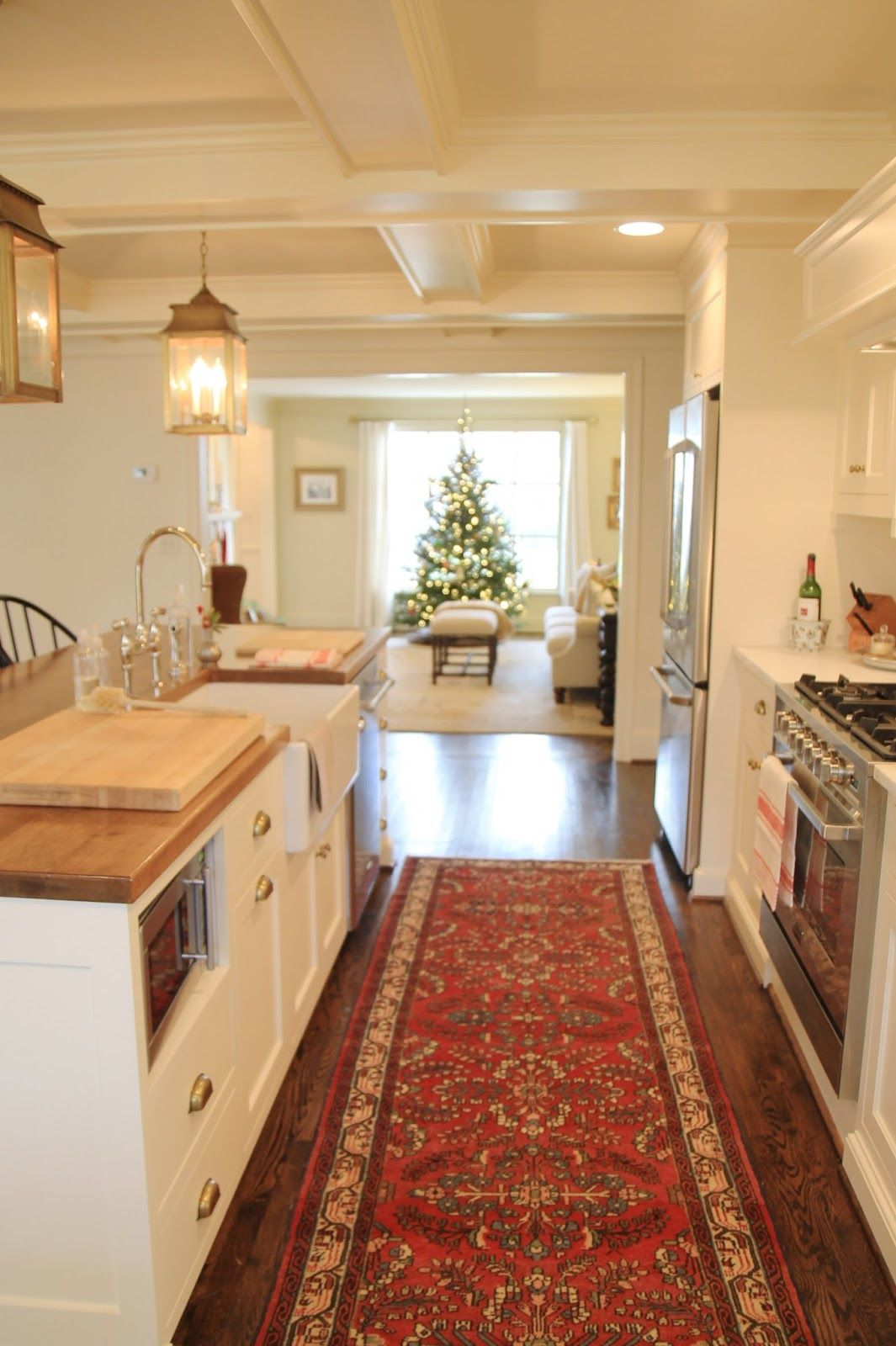 Jenny Steffens Hobick: Christmas at Our House | Photo Tour | House ...