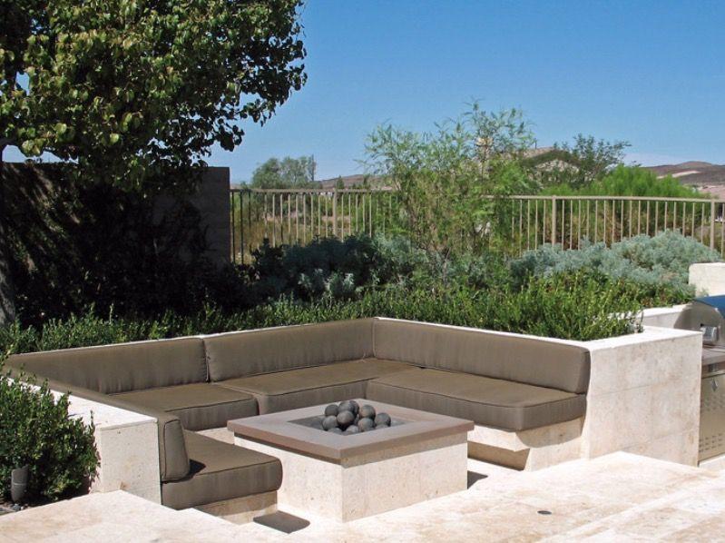 Image result for sunken integrated garden seating for Sunken outdoor seating