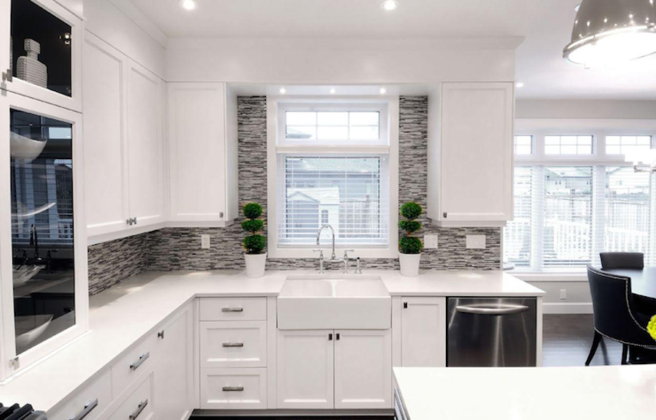 Modern White Kitchen Ikea Kitchens Countertops Modern White Kitchen Smallhouseideacom