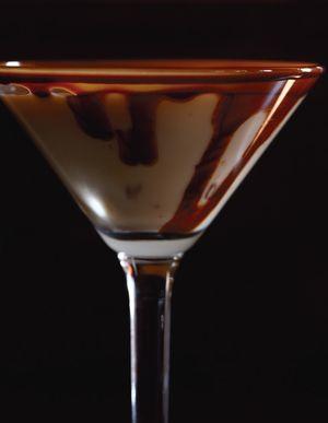 Snickertini Recipe Chocolate Cocktails Mint Ice Cream