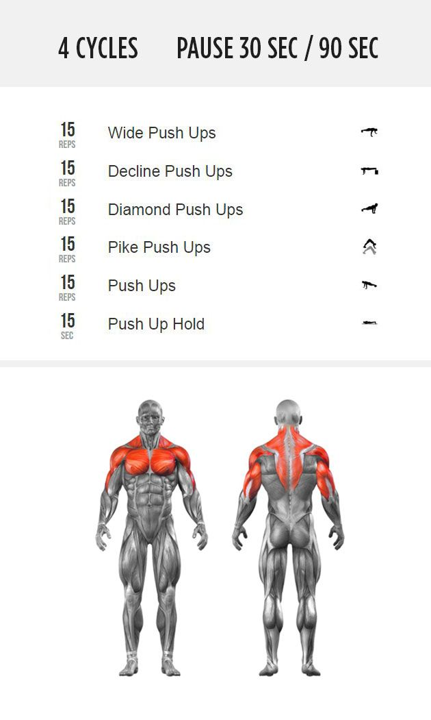 How do you measure your push up progress? Take the