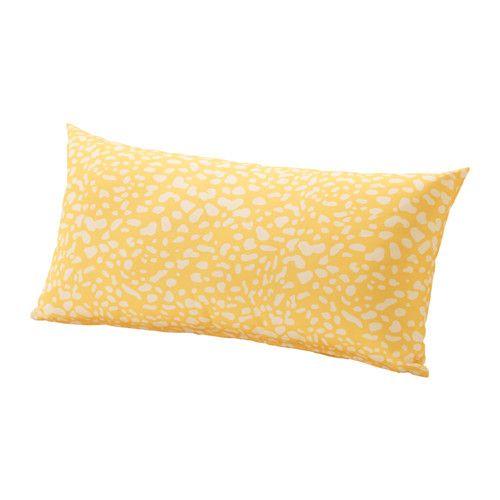 Grenö Kissen/Außen, Gelb, Weiß Gelb/Weiß 59X30 Cm | Balcony