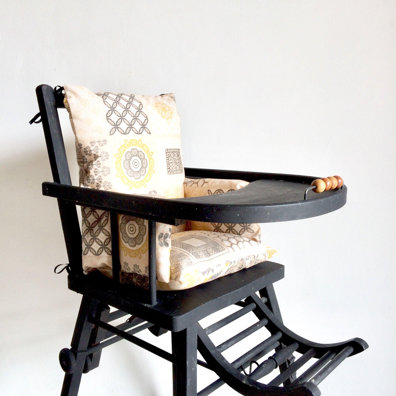 Coussin Chaise Haute Juliette Chaise Haute Bebe High Chair Chair Furniture