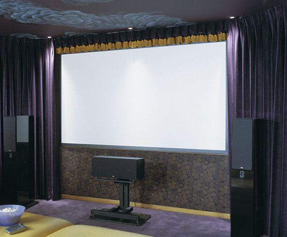 Projector Screen Draper Home Theater Video Projector Screens