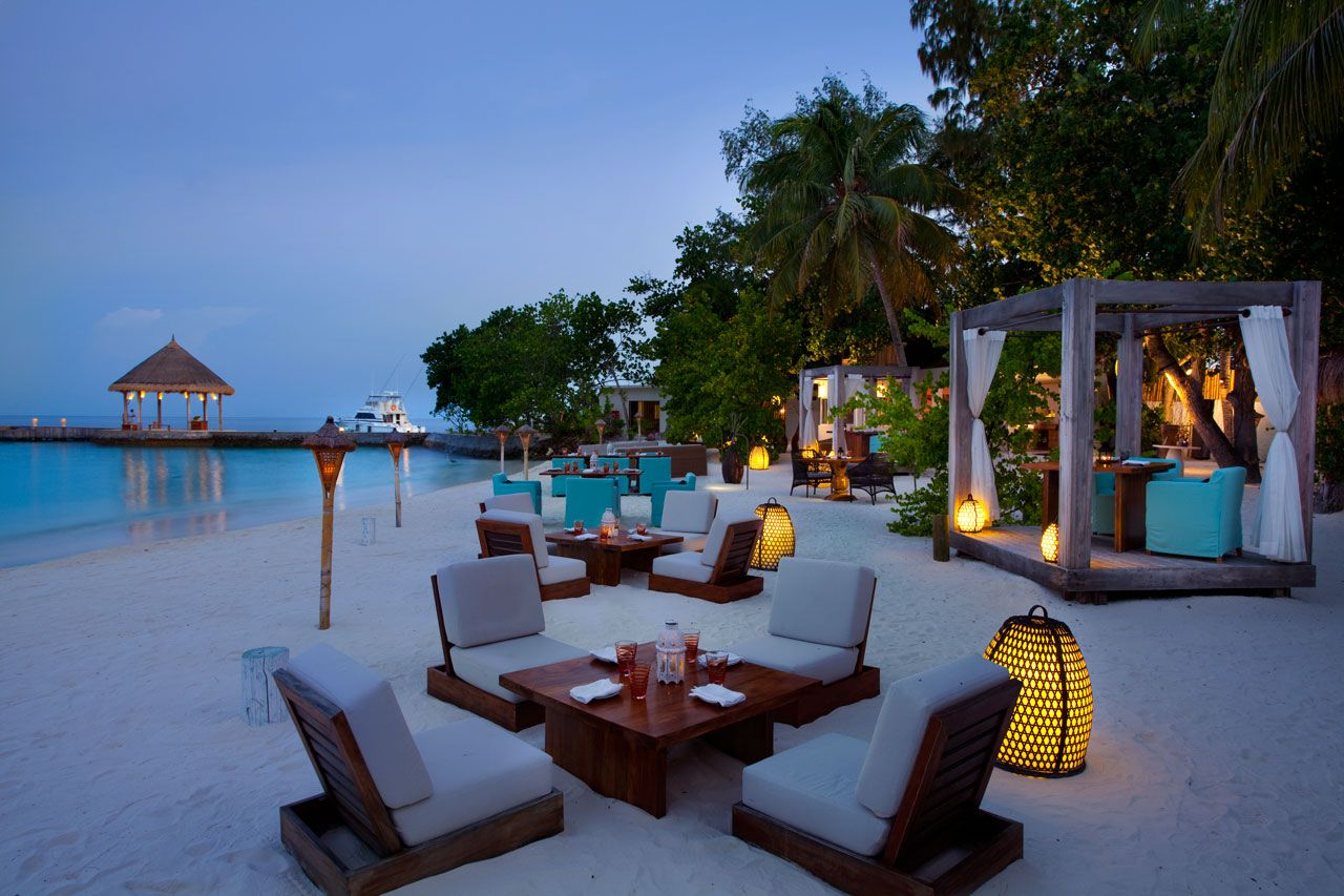 Jumeirah Vitavelli Maldives Outdoor Design Outdoor Furniture Sets Outdoor Decor