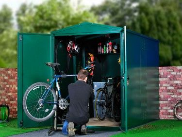 Bike Storage X 6 Police Approved Storage And Metals
