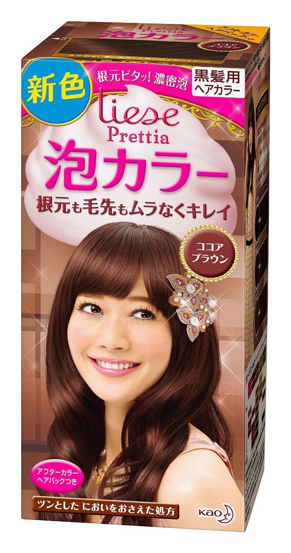 Kao Japan Liese Prettia Foam Hair Color Cocoa Brown Foam Hair
