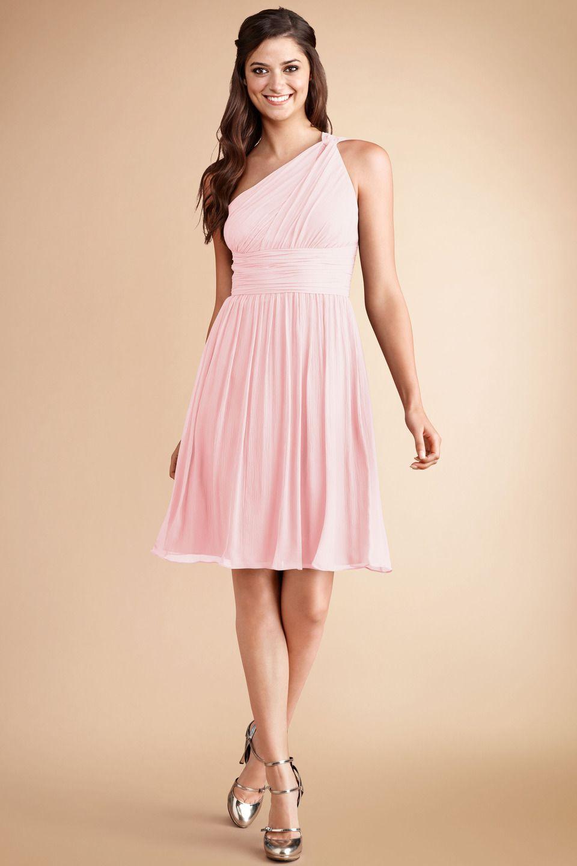 DonnaMorgan Rhea #Bridesmaids dress in Blush   wedding // A ...