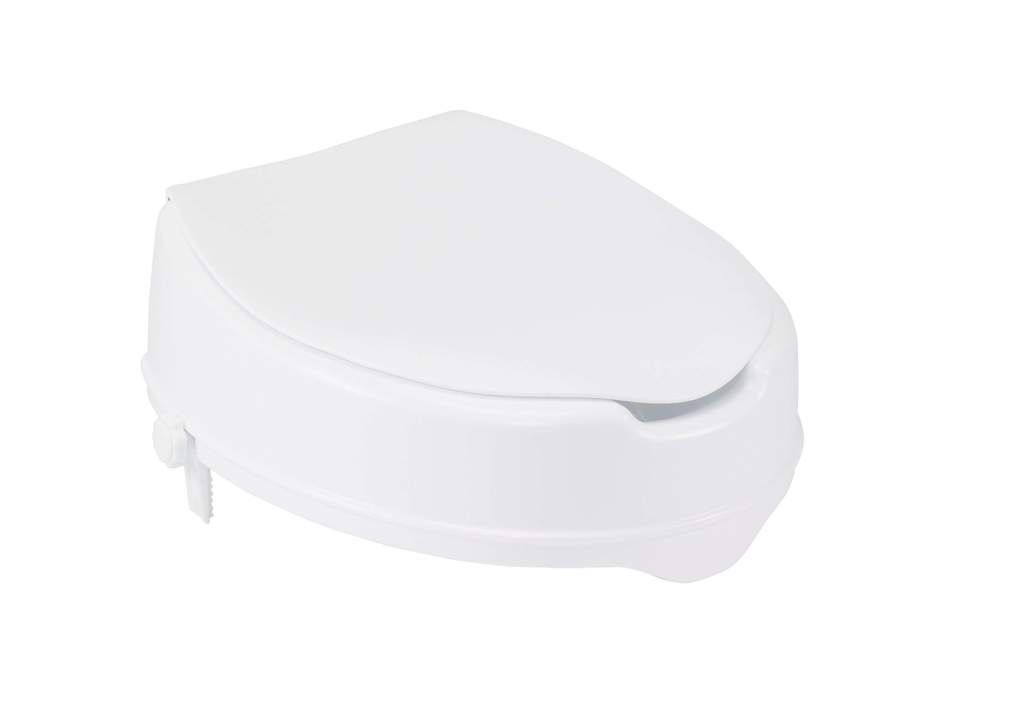 Drive 12065 Raised Toilet Seat With Lock And Lid Standard Seat 4