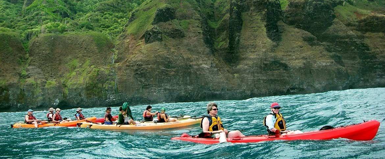 Napali Kayak Kauai Coast Kayak Tours Southern