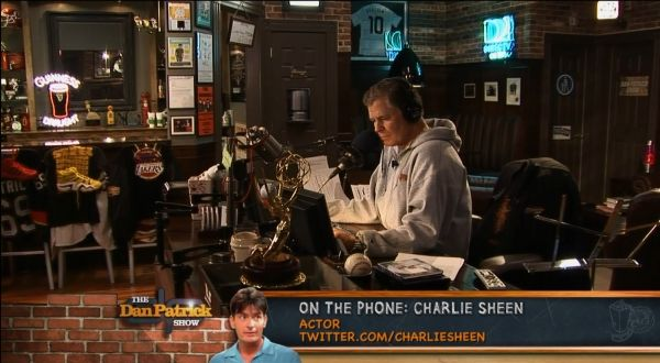 Dan Patrick Man Cave Best All Around Day Time Sports Show By The