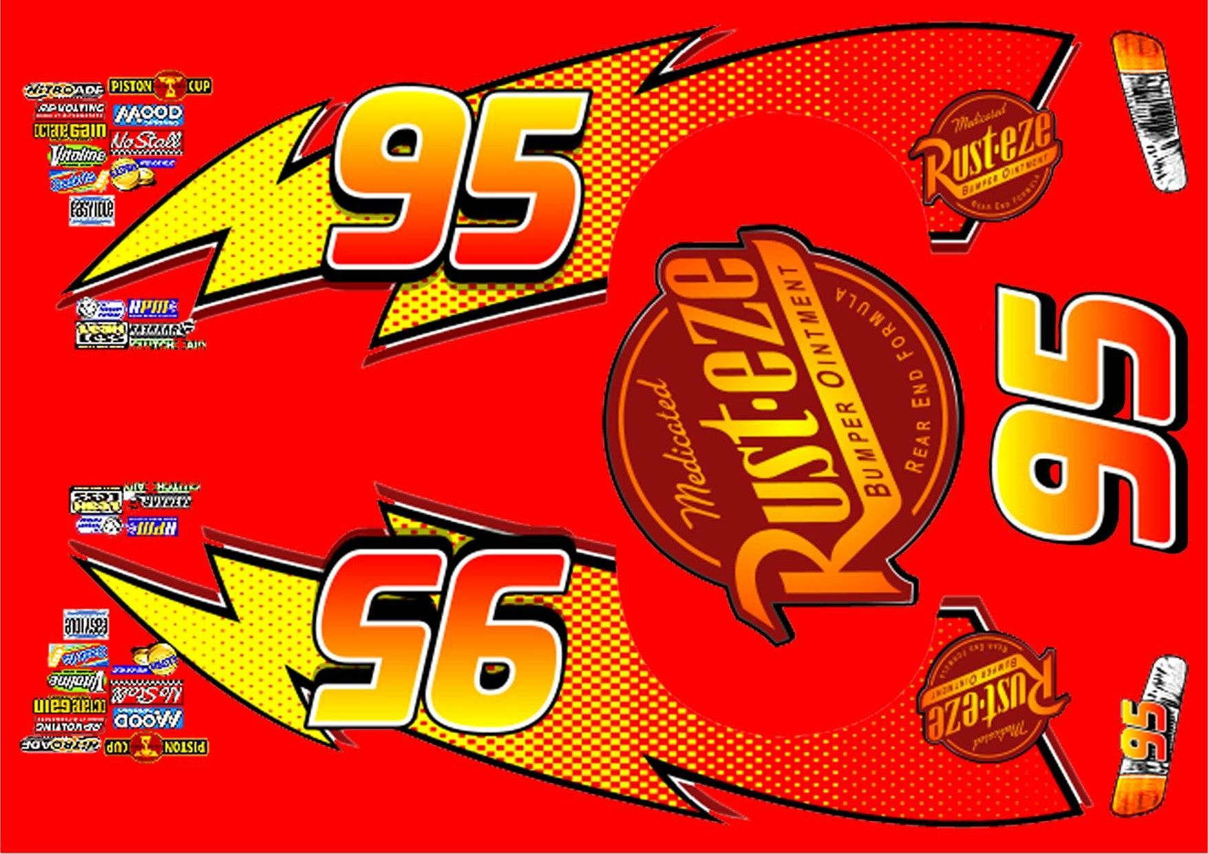 Persnickety image with regard to lightning mcqueen printable decals