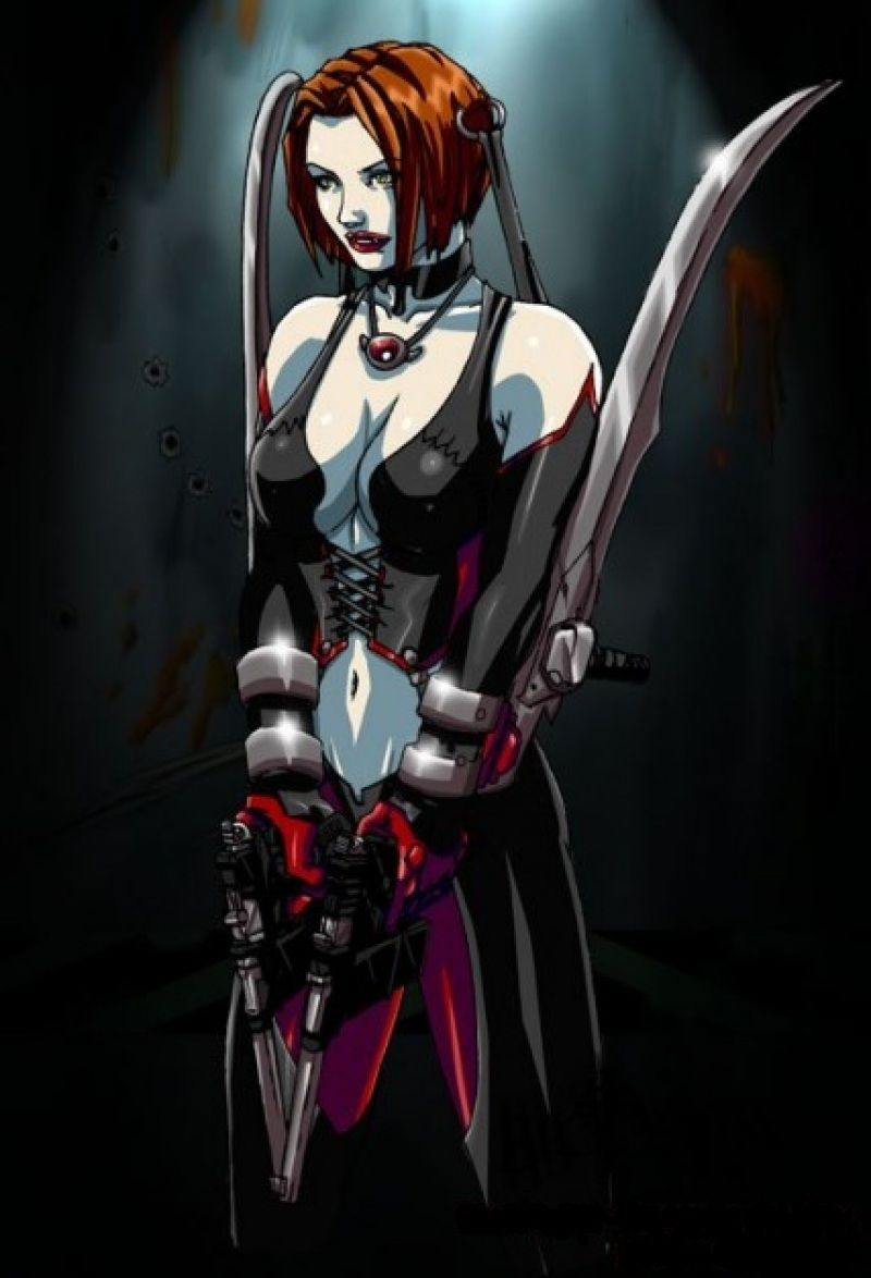 Bloodrayne 2 Female Characters Rayne Video Game Characters