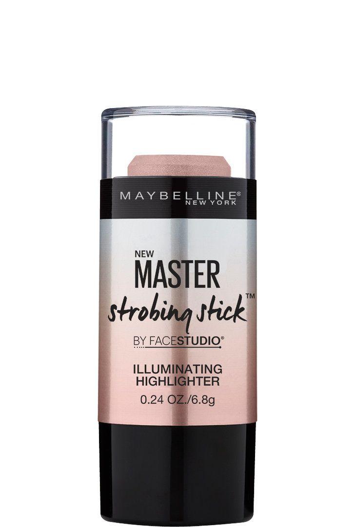 Maybelline Master Strobing Stick Illuminating Highlighter Hair And Face Studio V Shape Powder 01 Light Med