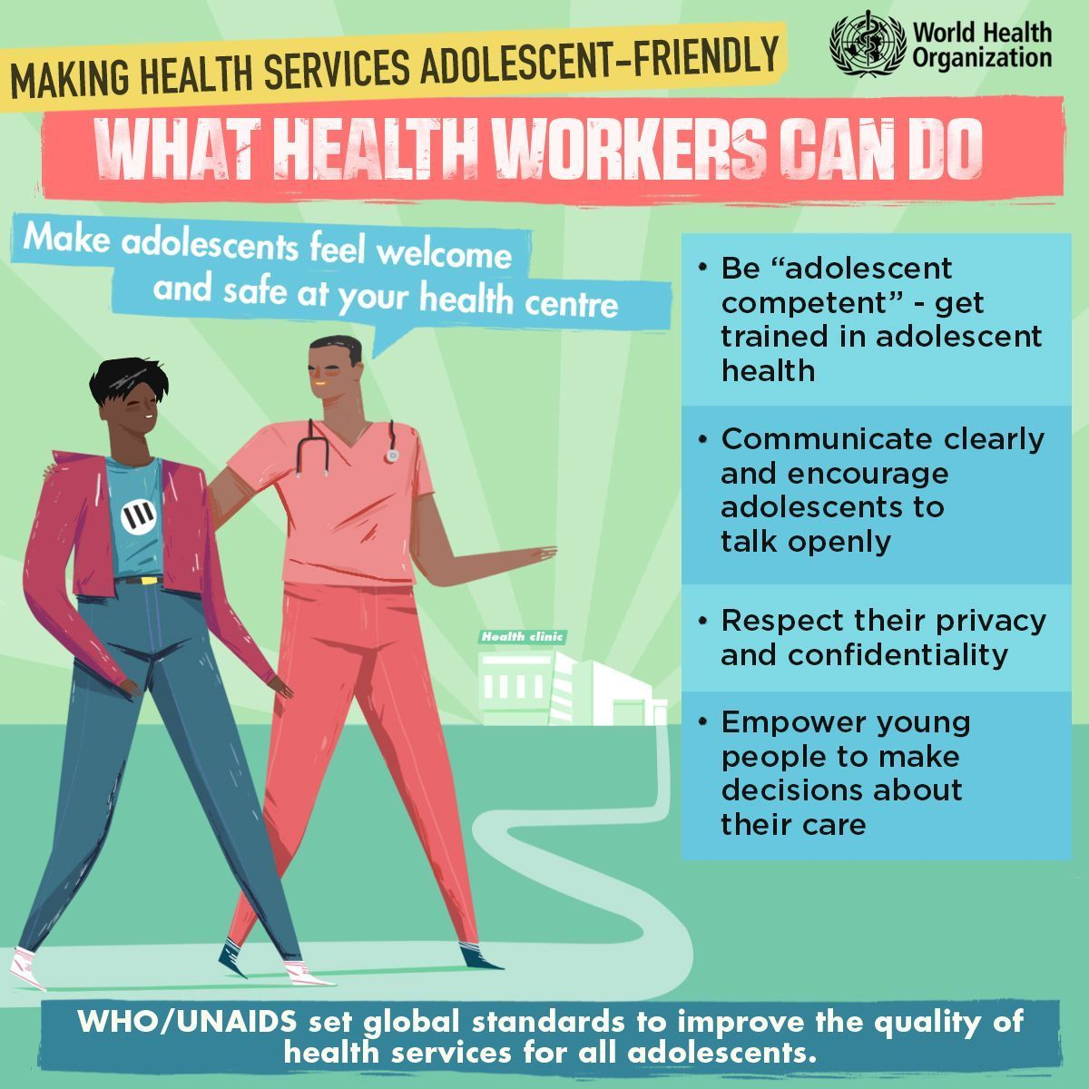 What Health Workers Can Do, Making Health Services