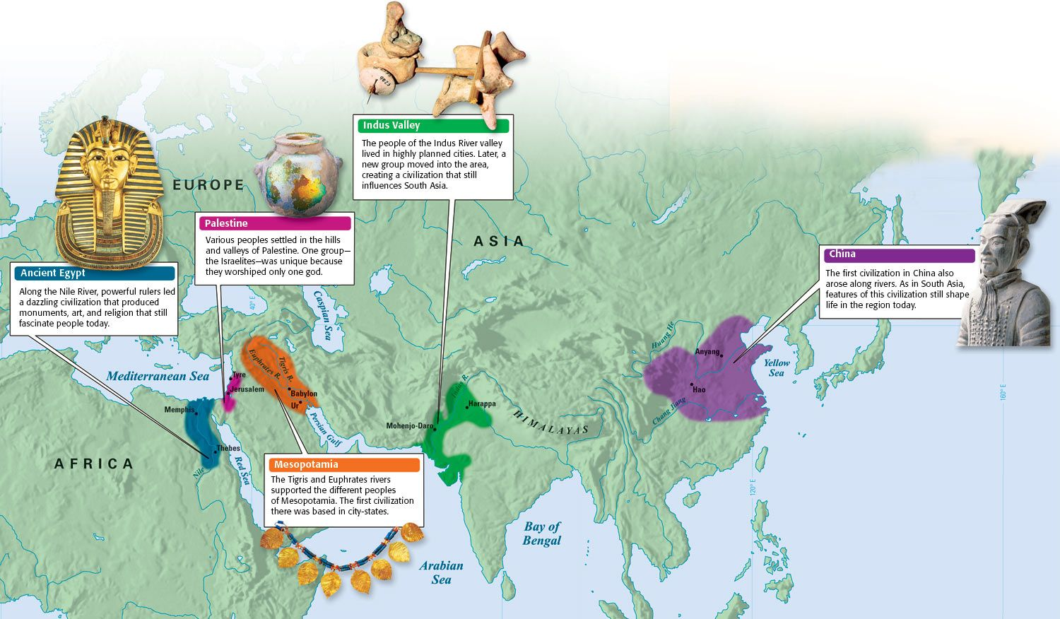 The Rise Of Civilizations Map C1 Multiple Weeks