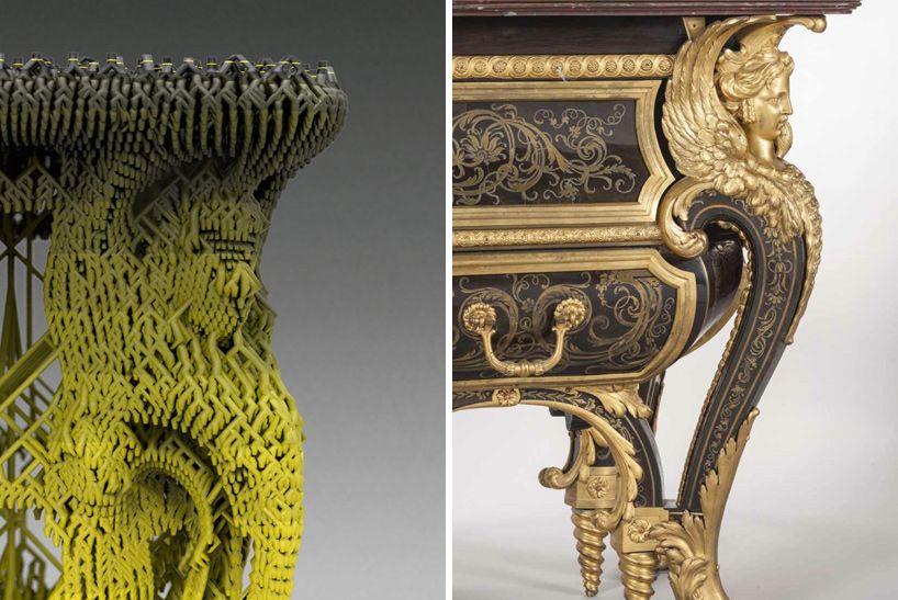 vincent coste 3d printed table converseuse chateau de versailles designboom