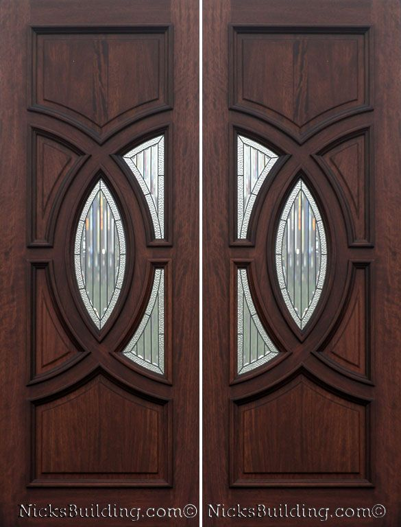 Front Door Wood Exterior Door Double Door Olympus Door