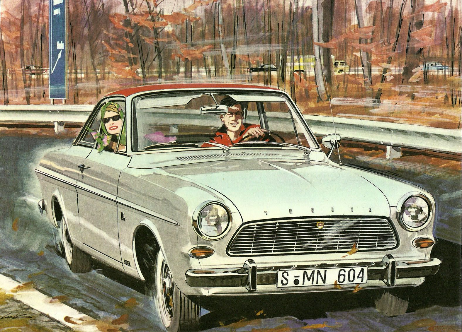 1964 Ford Taunus 12m Coupe With Images Family Car Car Vehicles