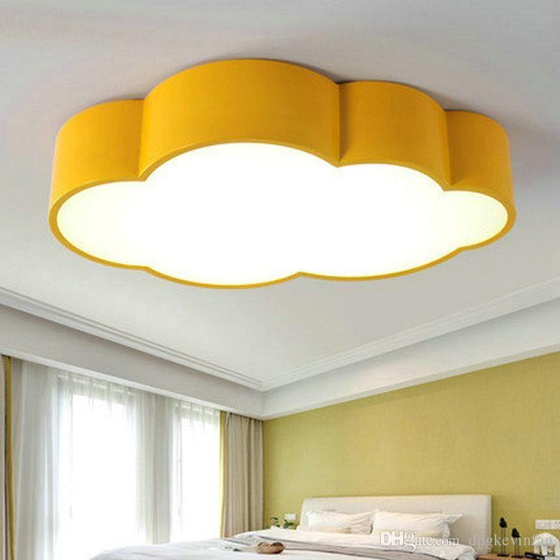2017 Led Cloud Kids Room Lighting Children Ceiling Lamp Baby