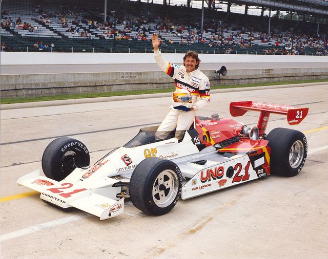 Tim Richmond at the 1980 Indianapolis 500 by indianapolismotorspeedway.com, via Flickr