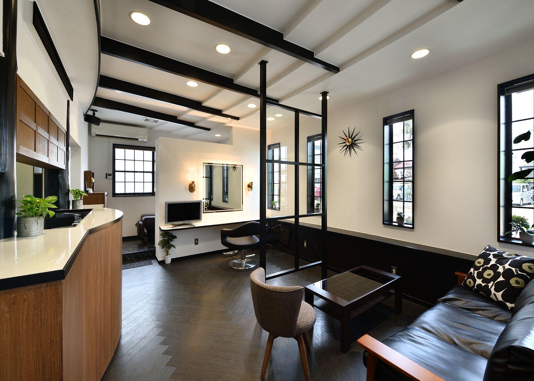 髪工房千家|設計・デザイン実績|WHATS Inc./株式会社ワッツ|美容室サロンの設計・内装・デザイン