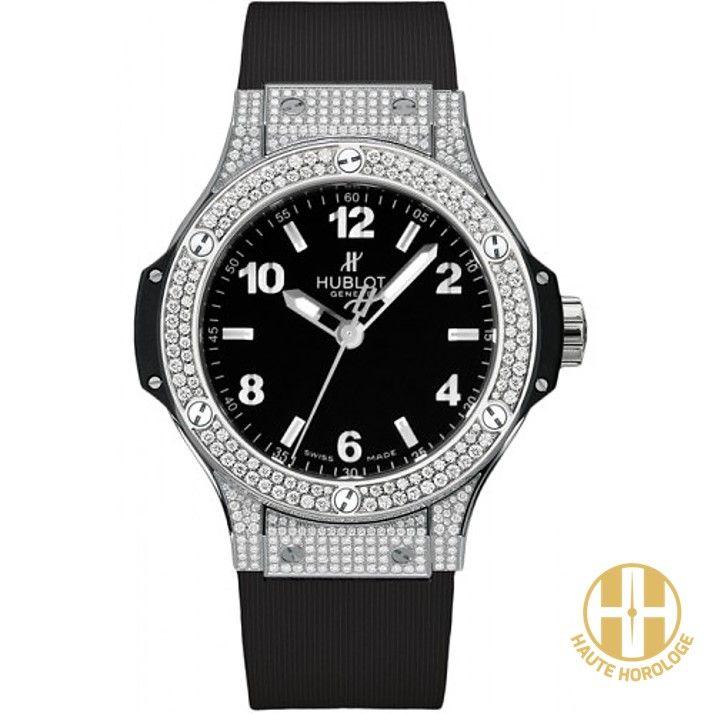 13f7b5642d0bc Hublot Big Bang Quartz 38mm Diamonds Pave Ladies Watches UAE   Mens ...