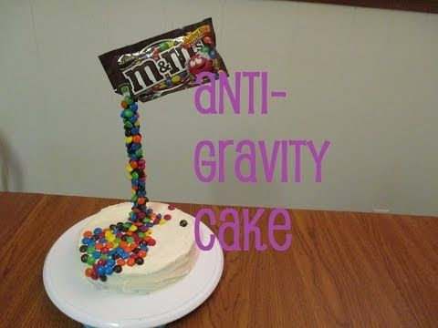 Anti-gravity Cake TUTORIAL