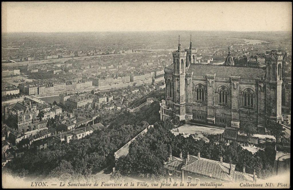 Postcards Lyon Lyon Frankreich Reisen Lyon