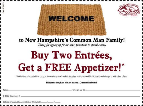 Common Man Coupons Coupons