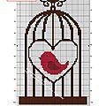 Oiseau en cage !