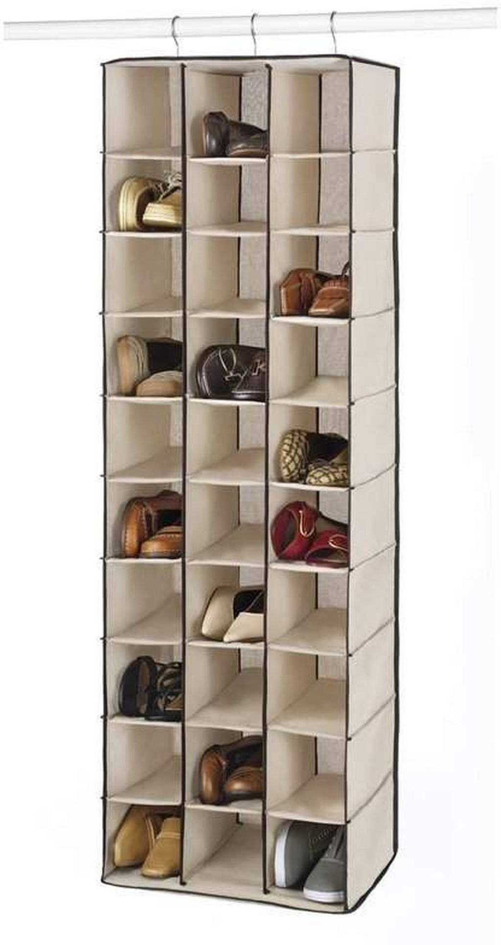 36 Delightful Diy Shoe Rack Design Ideas To Keep Your Shoes Nicely Hanging Shoe Rack Hanging Shoe Storage