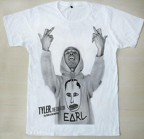 fdda23e34b1f OFWGKTA Odd Future Tyler The Creator Tyler Gregory Okonma Sam Show Mid  Finger Unisex T-Shirt.  14