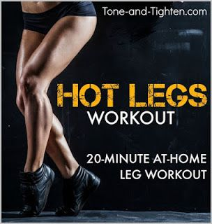 20 Minute At-Home Leg Workout