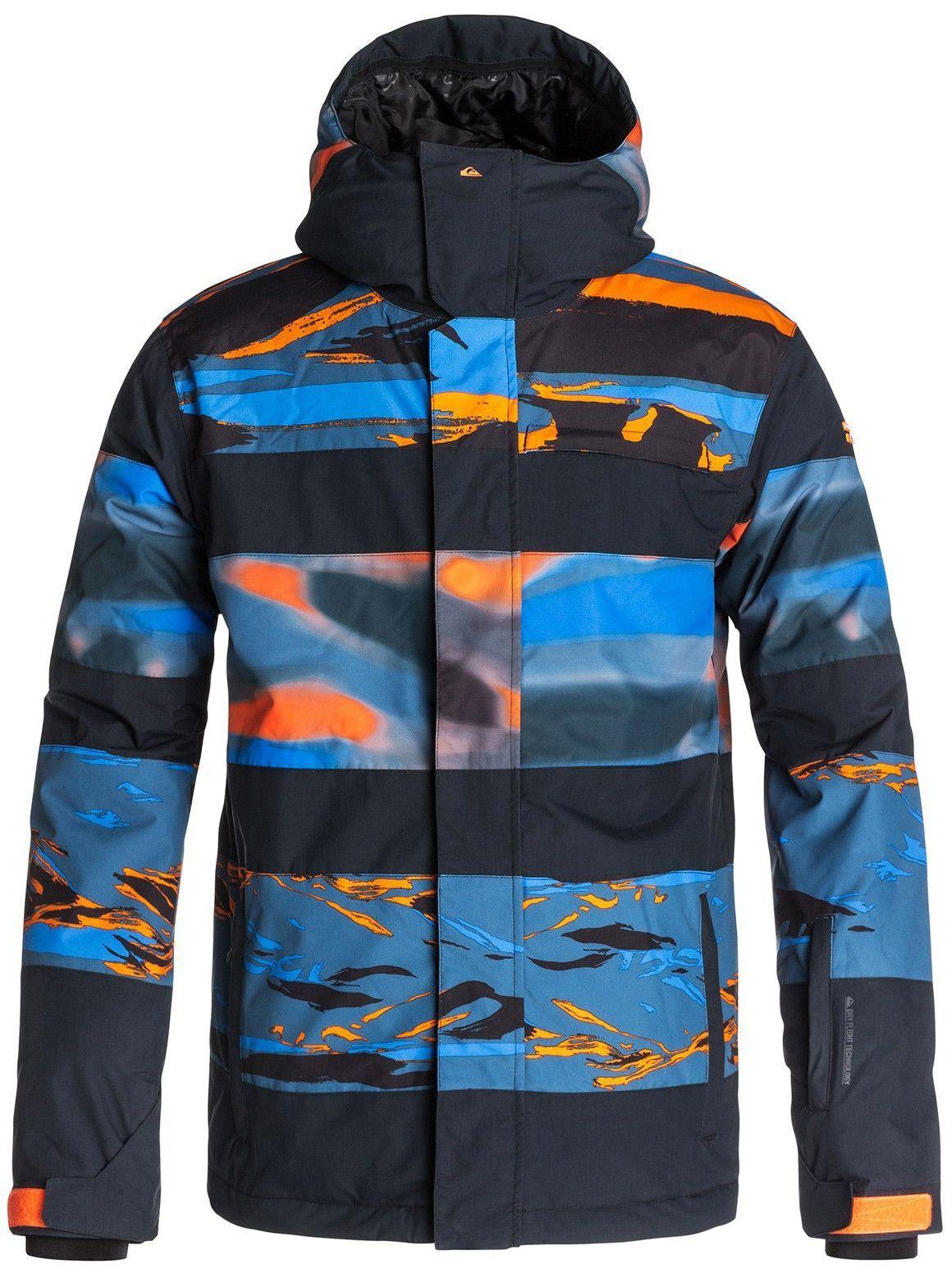 5473bf3f9de8 Quiksilver Fiction Snowboard Jacket Mens