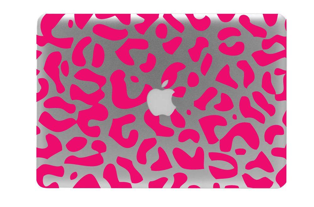 Leopard Print Macbook Decal Macbook Sticker Laptop Decal