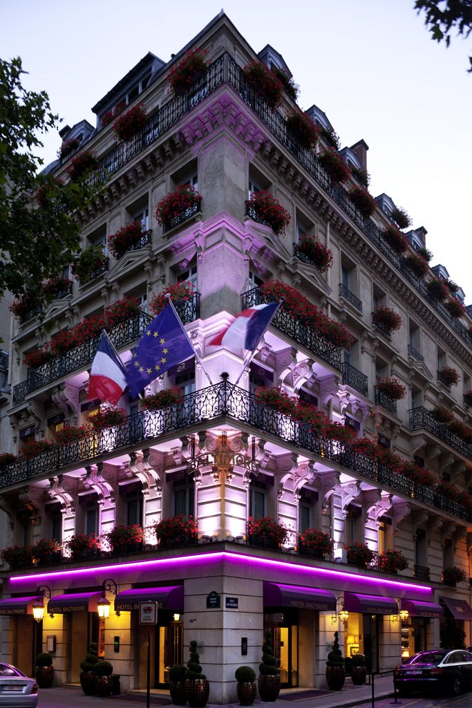 Hotel Baltimore #Paris, looking radiant. #travel