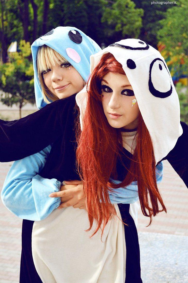 Cute panda cosplay. #panda #cosplay #costume