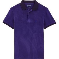 Herren Ready to Wear - Solid Frottee-Polohemd für Herren - Polohemd - Pacific - Blau - Xs - Vilebreq