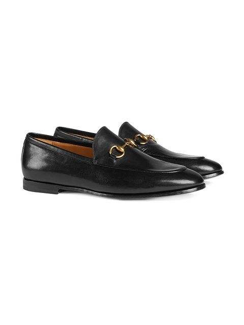 Black Gold Jordaan leather loafers Gucci JRbf9nxdf