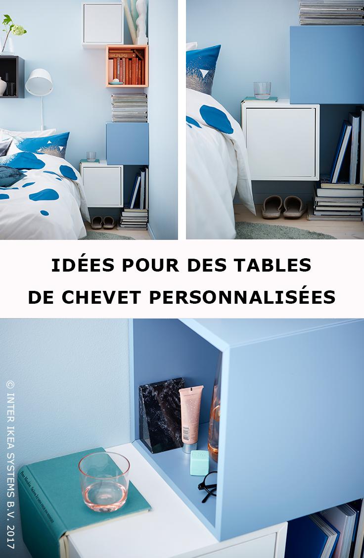 Qui A Dit Qu Une Table De Chevet Devait Etre Carree Et Avoir