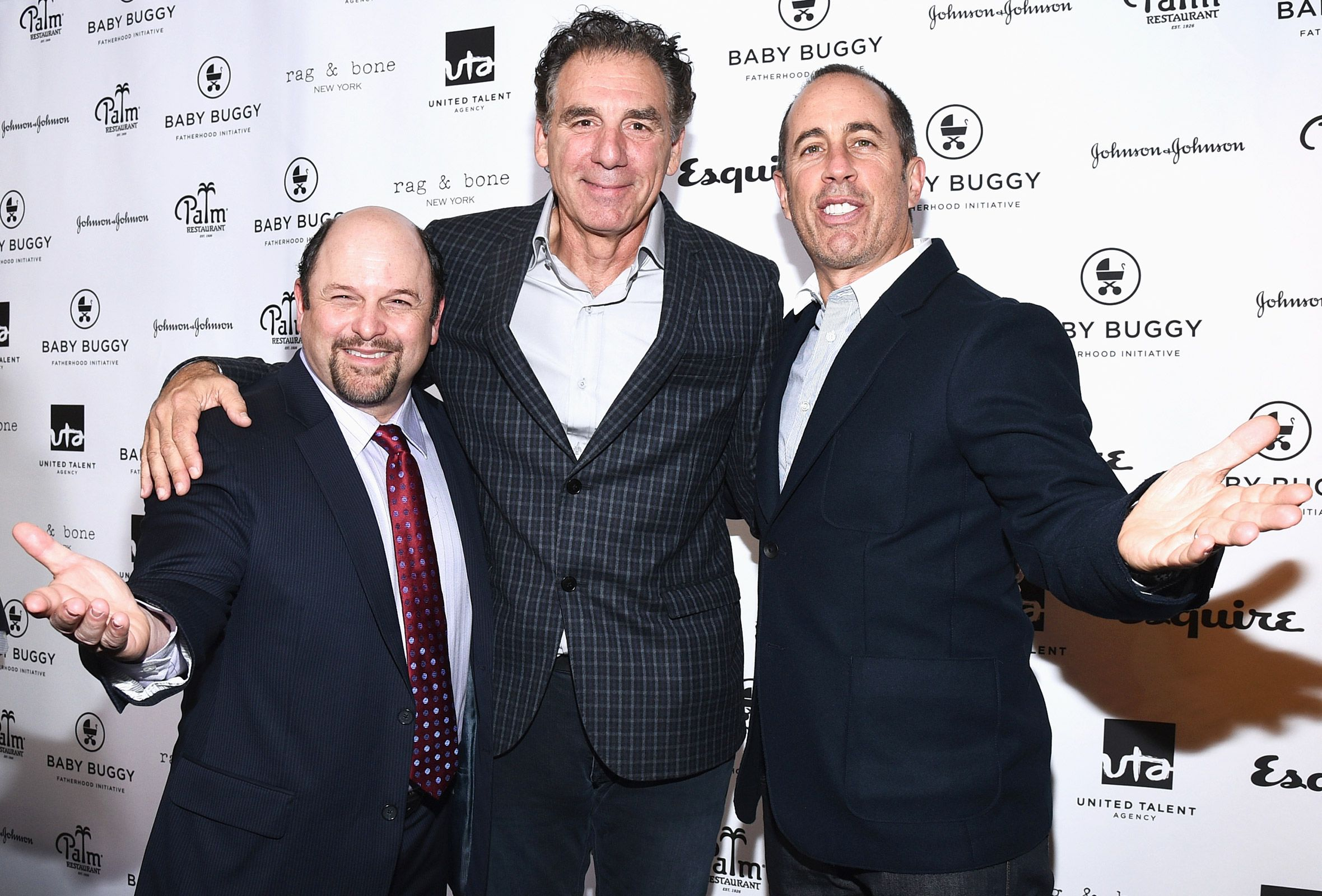 Mega Seinfeld Reunion Jerry, George e Kramer Have-9425