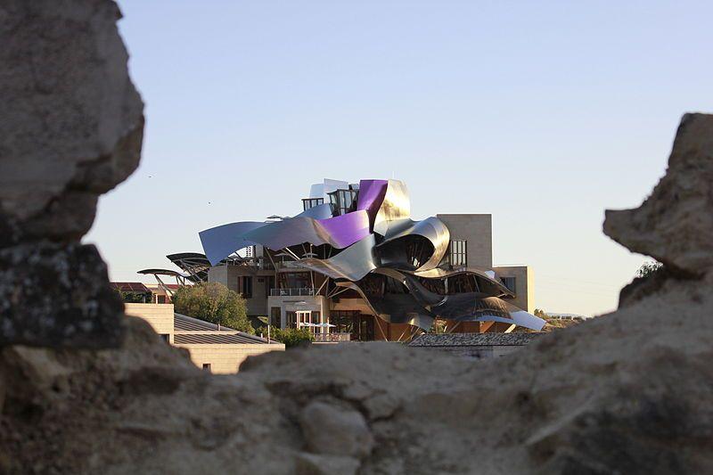 Bodega Hotel Marques De Riscal Elciego Alava By Frak Gehry