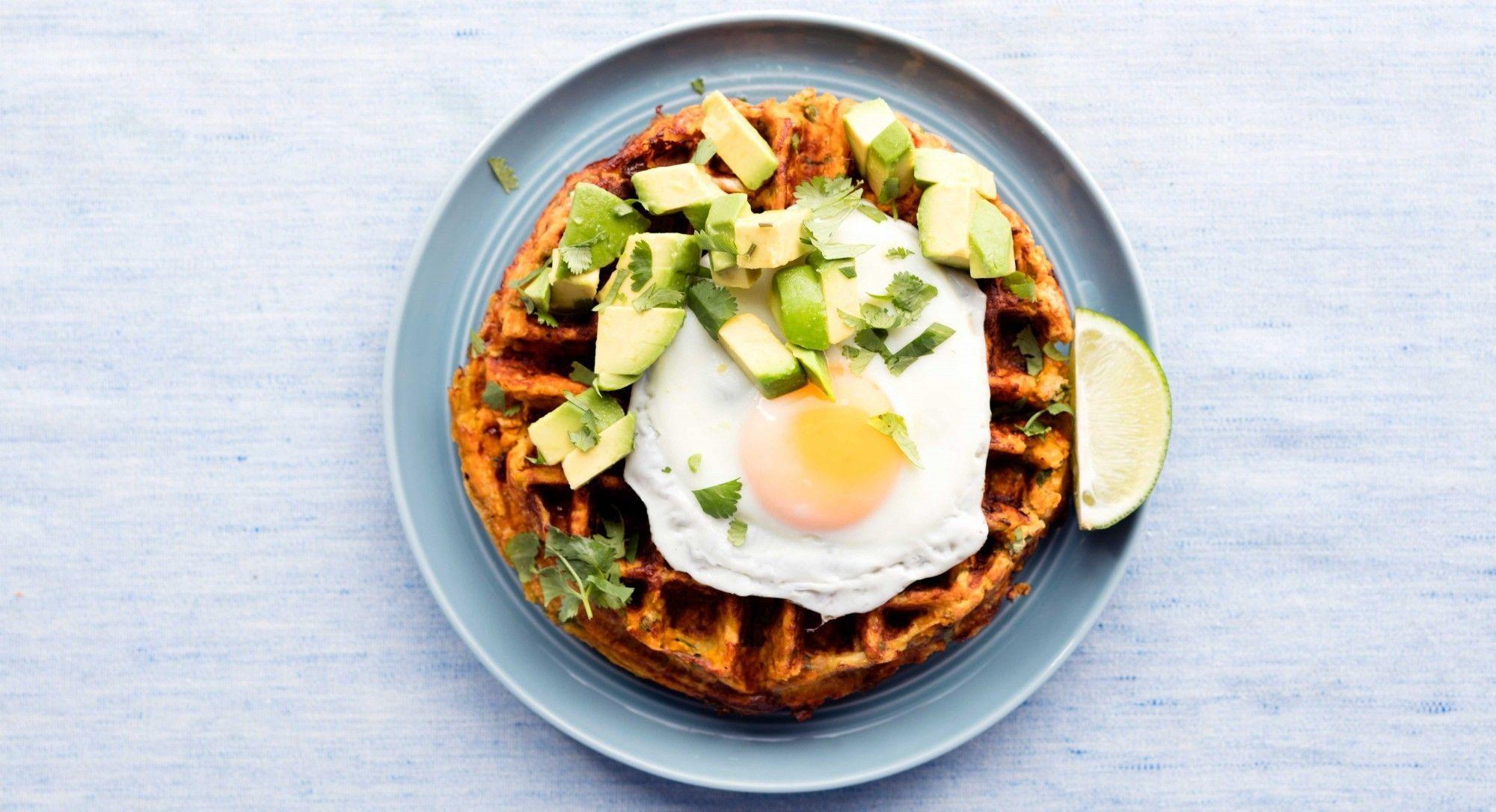 Sweet Potato Hash Brown Waffles Recipe