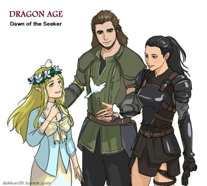 Dawn Of The Seeker Http Dakkun39 Tumblr Com Dragon Age Characters Dragon Age Dragon Age Origins