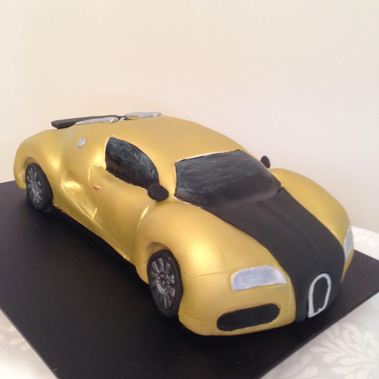 Bugatti Veyron Cake By Jojo B