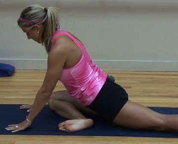 yoga hip stretches new to yoga try this hip opening