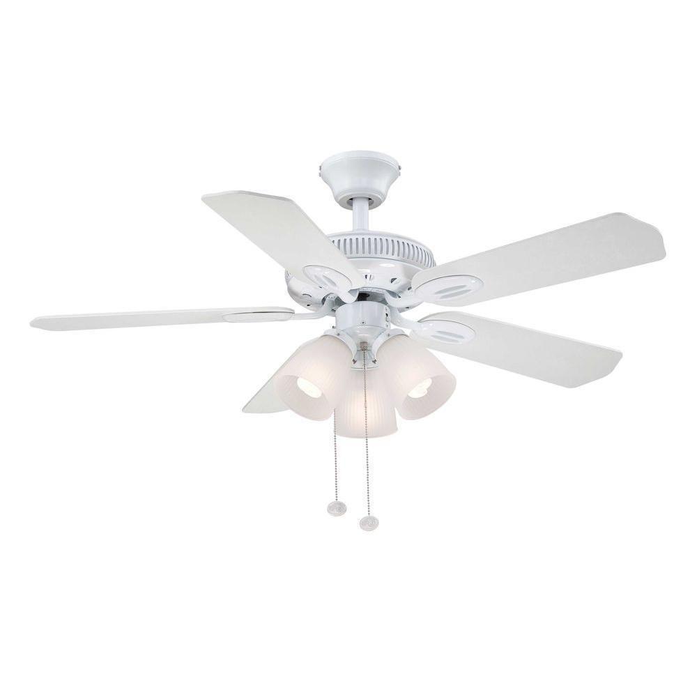 Hampton Bay White Ceiling Fan Blades - Ceiling Fans Ideas on
