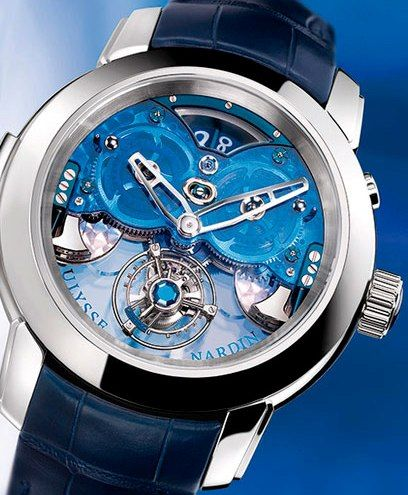 Ulysse Nardin Imperial Blue Tourbillon