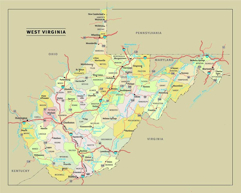 SSWV SSWV Locate WV On A US Map Locate Students - West virginia us map